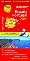 MAP 0794 SPAIN & PORTUGAL HI RES 2019