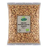 Cacahuetes orgánicos tostados y salados 500g de Hatton Hill Organic