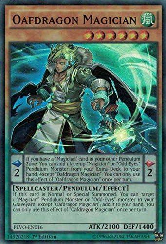 Yu-Gi-Oh Magician Double Iris Pevo-it003 ULTRA RARE ita