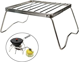 Best portable folding stainless steel campfire stand Reviews