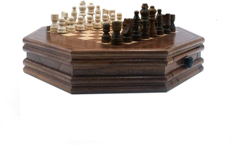 Spring new work one New mail order after another CHUNYAN Chess Set for Adults Drawer Kids Octagonal