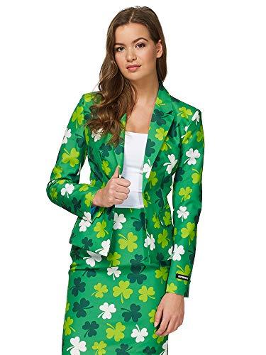 Suitmeister carnavalskostuums voor dames in verschillende prints - met jas en rok