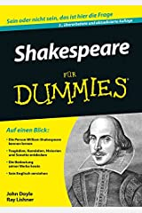 Shakespeare für Dummies (German Edition) Kindle Edition