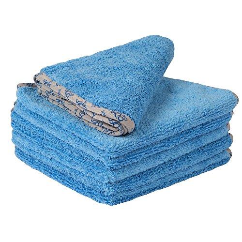 Buff Detail Microfiber Car Towels (16'x 16') | 400...