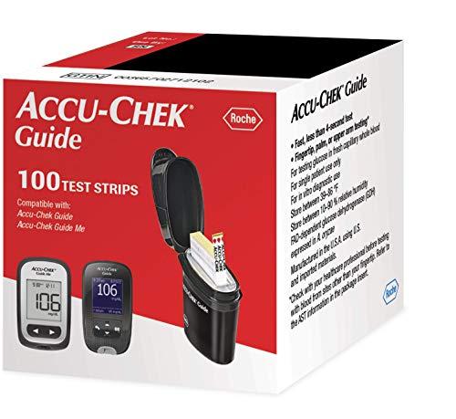 buy  Accu-Chek Guide Glucose Test Strips, Diabetic ... Blood Test Strips