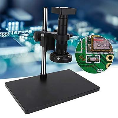 34 MP Microscope Camera,Full Set 34MP Digital Industrial Soldering Microscope Camera HDMI USB Outputs 100-240v(US)