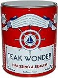 Teak Wonder Oil Dressing & Sealer - Aceite impregnante de teca para el tratamiento de teca, barco