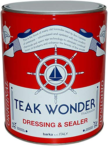 Teak Wonder Oil Dressing & Sealer 4lt Öl Lasur Teak Behandlung Teakholz Boot Schiffe