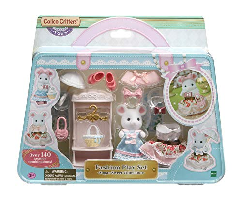 Calico Critters Fashion Playset, Town Girl Series - Sugar Sweet Collection