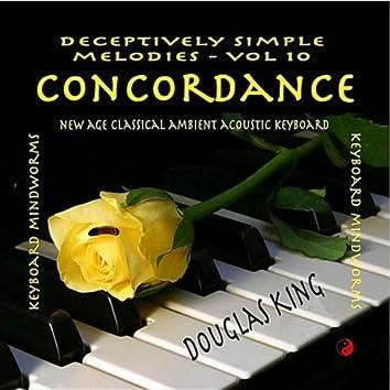 Concordance: Deceptively Simple Melodies, Vol. 10