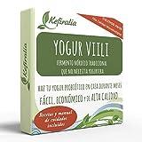 Fermento de Yogur Viili (Reusable de forma ilimitada) + Instrucciones + Recetas + Ayuda y asesoramiento en español - KEFIRALIA