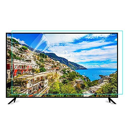 Protector De Pantalla De TV De 70'' contra La Luz Azul, Panel Protector De Pantalla De 50-75 Pulgadas con Filtro Antideslumbrante Y Antiarañazos para LCD/LED/OLED Y QLED 4K HDTV,55' 1221 * 689