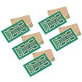Vipxyc Pegatinas de Mejora de la señal del teléfono Celular, amplificadores de señal del teléfono Celular de 5 Piezas, Mejora la señal móvil, para radios bidireccionales, PDA, walkie talkies