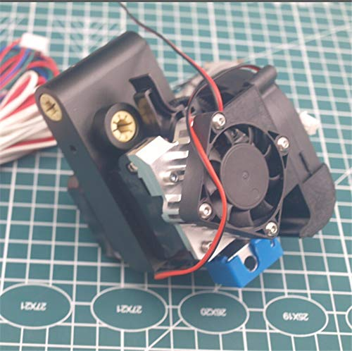 XBaofu 1set Black Anodized Aluminum For Ultimaker Titan Aero Extruder Kit With Auto Leveling LM6UU Bearings 1.75/3mm (Size : 3mm 24V)