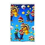 Franco Kids Room Darkening Window Curtain Panel, 42' x 63', Super Mario