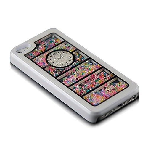 Saxonia. Schutzhülle für Apple iPhone 5 & 5S Slim Case Hülle Uhr Design