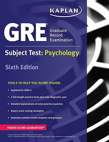 GRE Subject Test: Psychology