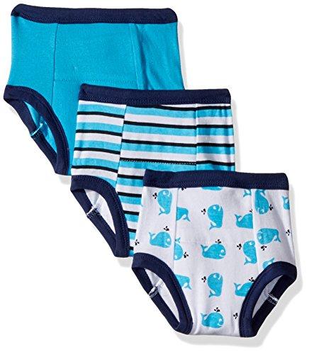 Luvable Friends - Pantalones de entrenamiento unisex de algodón para bebé,  Ballena (Whale), 2 Años