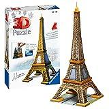 Ravensburger - Puzzle 3D, diseño Torre Eiffel (12556 2)