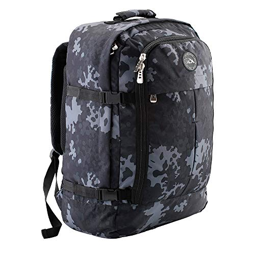 Cabin Max Metz Travel Backpack| Hand Luggage Flight Bags Cabin Bags 55 x 40 x 20 (Camo)