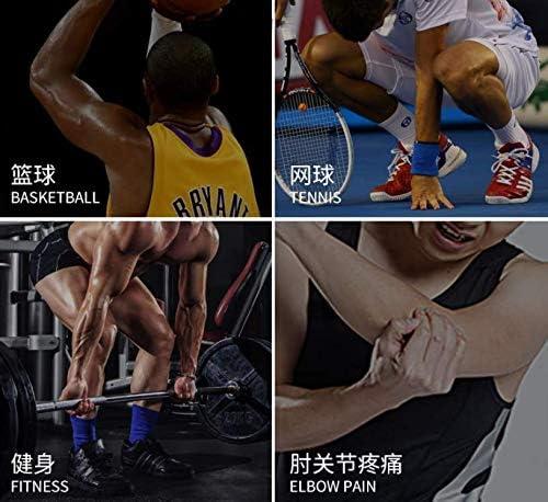Doyeemei Appui-Bras de Plein air Manchon d/équitation Respirant Escalade Basket-Ball p/êche Protection Solaire Manchon de Sport Black M