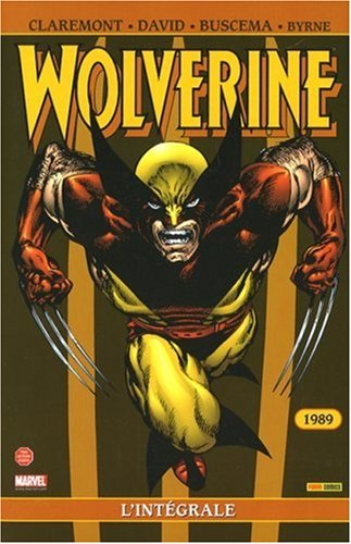 Wolverine L'Integrale 1989