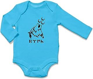 ÜLKÜCÜ Market Baby Body Strampler Babykleidung Neugeborenes Langarm Jungen und Mädchen Wolf Göktürk Uluyan Kurt