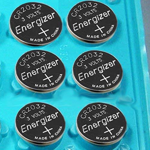 Pack of 6 -- Energizer Cr2032 3v Lithium Coin Cell Battery Dl2032 Ecr2032