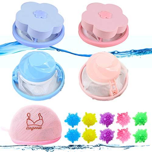 Lint Remover Wassen Ballen,Wasballen voor Wasgoed,Magische Pluisverwijderaar,Wasende Bal Droger,Herbruikbare Wasmachine…