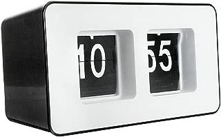 Auto Flip Clock Desk Wall Clock Smart Alarm Clock Digital Table Clock AM/PM Display for Home Office Decoration