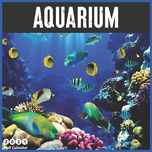 Aquarium 2021 Wall Calendar: Official Aquarium Calendar 2021, 16 Months