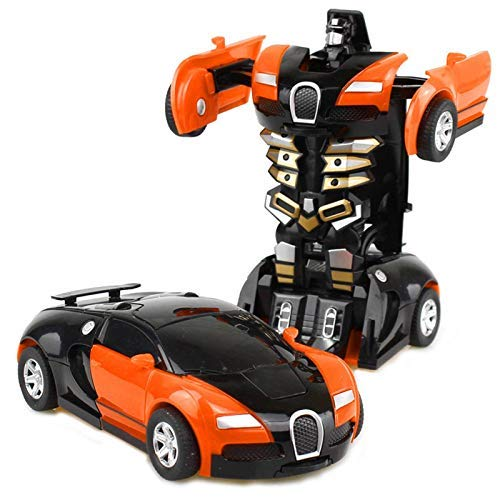 N-B Kinder Transforming Spielzeug King Kong Kid Boy Transforming Auto Roboter Kinderspielzeug
