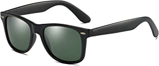 Polarized Sunglasses for Men Vintage Sport Shades Trendy Womens Sun Glasses Ultra Light Aluminum Magnesium Temple Eyewear ...