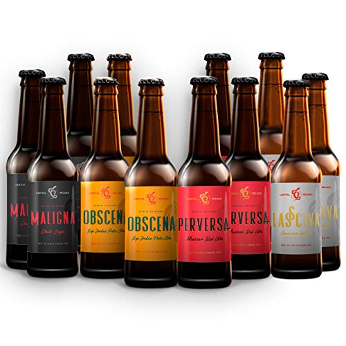 Cerveza Artesanal Capital Pecado 12 Mix