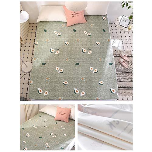 Bedlaken met elastische riem waterdicht beddengoed matrasbeschermer bedbeschermer kussenslopen 180x200cm C