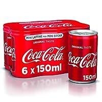 Coca-Cola Original Taste 150 ml - 6 Mini lattine