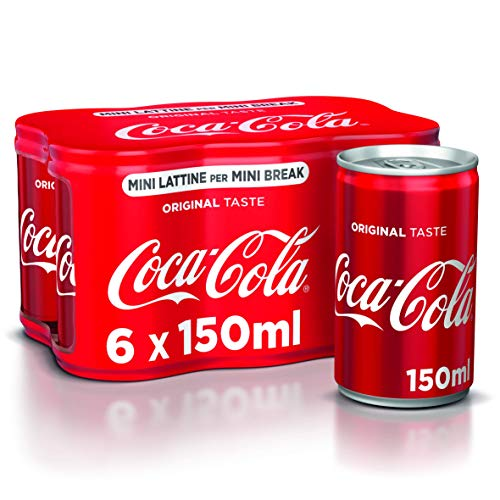 Coca-Cola Original Taste 150 ml - 6 Mini lattine