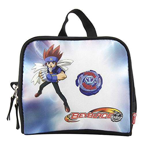 Best Price Beyblade Hand Luggage, Black, Blue