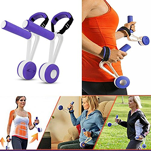 As Seen On TV Swing Weights - Fitness Walking Dumbbells Hand Weights 3lb Pair