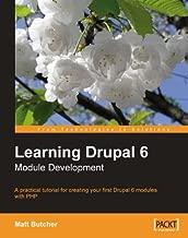 Learning Drupal 6 Module Development