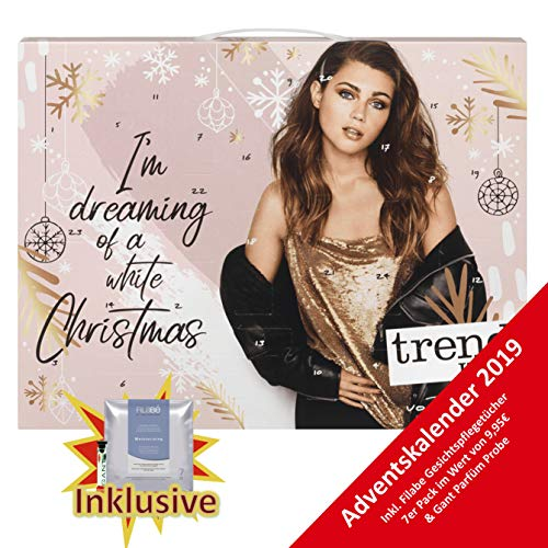 Trend it UP Frauen Adventskalender 2019 - idealer Advent Kalender für die Frau, Beautyadventskalender, Wert 119 €, Kosmetikkalender 24 Beauty Produkten für Damen , Damenkalender Frauenkalender