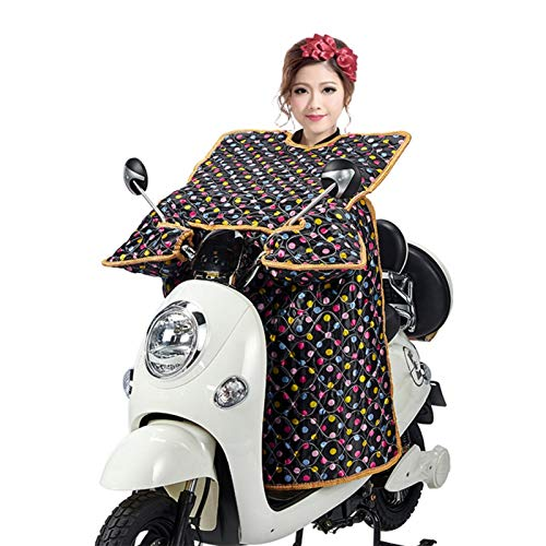 Seatechlogy Protección de piernas Scooter Motocicleta protección contra el Clima, Cubierta de protección de piernas a Prueba de Viento Delantal de piernas Cubierta cálida para Scooter y Motocicleta