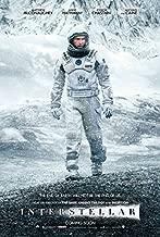 Interstellar Movie Poster 11 x 17 Style D (2014) Unframed