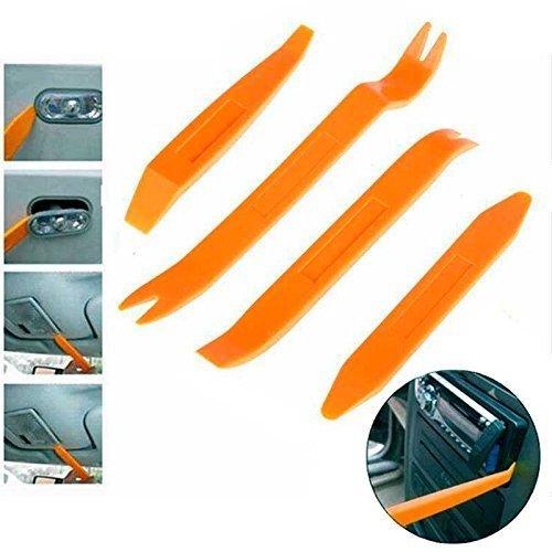 Cablepelado Kit Herramientas Desmontar salpicadero Radio Coche (pack con 4 piezas)