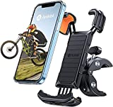 andobil Bike Phone Mount, 【Full Protection & Super Stable】 Motorcycle Phone Mount Universal Handlebar Bicycle Cell Phone Holder Compatible with iPhone 13 13 Pro Max 12 11 X Galaxy S21 Note20 and More