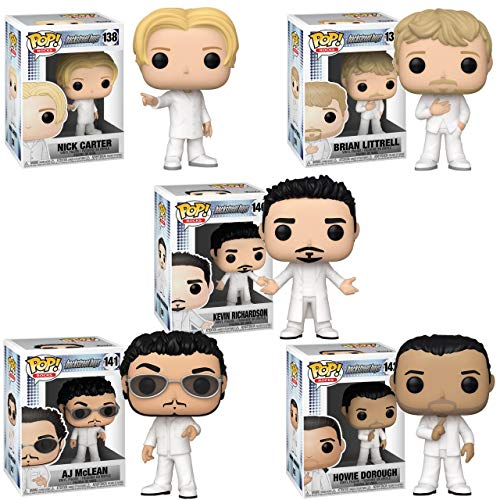 Backstreet Boys Funko Pop Komplettset 9 cm Figur Boy Band Musik 90er Jahre #1