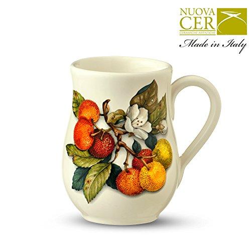 Keramik Schokolade, Kaffee, Tee-Becher - Corbezzoli & Mele Collection