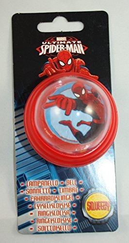 Eurasia Go Fabs Jungen Spiderman Fahrradhupe, Mehrfarbig, 6 cm Durchmesser