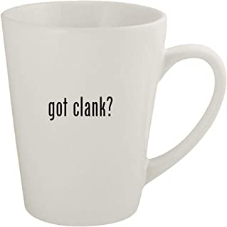 got clank? - Ceramic 12oz Latte Coffee Mug