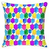 akingstore Cestlaviv_spin_dreidel_mosaic_colorfulspin_1393 - Fundas de...